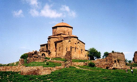 Церковь Джвари в Мцхете, храм Креста