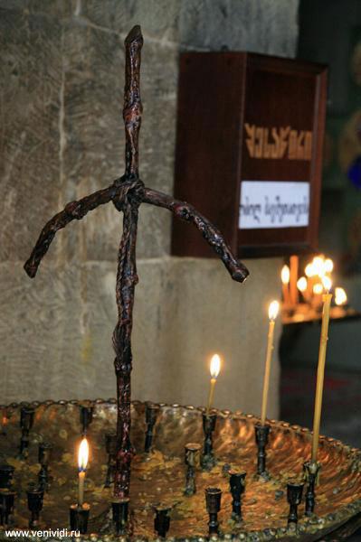 Символ Святого Креста в Джвари